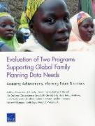 Cover-Bild zu Evaluation of Two Programs Supporting Global Family Planning Data Needs von Moore, Melinda