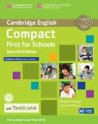 Cover-Bild zu Compact First for Schools Student's Book Without Answers with CD-ROM with Testbank von Thomas, Barbara