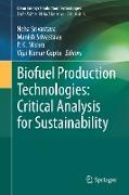 Cover-Bild zu Srivastava, Neha (Hrsg.): Biofuel Production Technologies: Critical Analysis for Sustainability