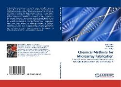 Cover-Bild zu Sethi, Dalip: Chemical Methods for Microarray Fabrication