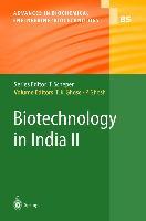 Cover-Bild zu Ghose, Tarun K. (Hrsg.): Biotechnology in India II