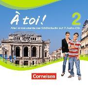 Cover-Bild zu À toi! 2. Hör-CD von Gregor, Gertraud