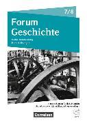 Cover-Bild zu Forum Geschichte 7./8. Schuljahr. Neue Ausgabe. Handreichungen für den Unterricht, Kopiervorlagen und CD-ROM. BE,BB von Asch, Bettina