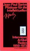 Cover-Bild zu Sartre, Jean-Paul: Plädoyer für die Intellektuellen