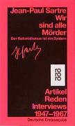 Cover-Bild zu Sartre, Jean-Paul: Wir sind alle Mörder