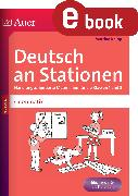 Cover-Bild zu Deutsch an Stationen Spezial Grammatik 1-2 (eBook) von Knipp, Martina