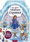 Cover-Bild zu Wagner, Maja (Illustr.): Der große Sticker-Eispalast