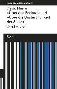 Cover-Bild zu Hume, David: Über den Freitod / Über die Unsterblichkeit der Seele (eBook)