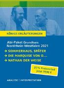 Cover-Bild zu Lessing, Gotthold Ephraim: Abitur-Paket Nordrhein-Westfalen 2021. Deutsch Grundkurs - Königs Erläuterungen