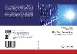 Cover-Bild zu Habib, Md. Habibur Rahman: Thin Film Deposition