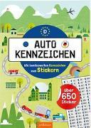 Cover-Bild zu Maas, Annette: Autokennzeichen - Alle bundesweiten Kennzeichen zum Stickern