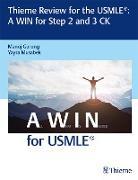 Cover-Bild zu Gurung, Manoj: Thieme Review for the USMLE®: A WIN for Step 2 and 3 CK (eBook)