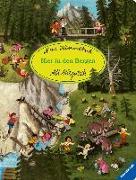Cover-Bild zu Mitgutsch, Ali (Illustr.): Mein Wimmelbuch: Hier in den Bergen