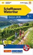 Cover-Bild zu Hallwag Kümmerly+Frey AG (Hrsg.): Schaffhausen-Winterthur Wanderkarte Nr. 1. 1:60'000
