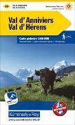 Cover-Bild zu Hallwag Kümmerly+Frey AG (Hrsg.): Val d'Anniviers - Val d'Hérens Nr. 23 Wanderkarte 1:60 000. 1:60'000