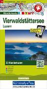 Cover-Bild zu Hallwag Kümmerly+Frey AG (Hrsg.): Vierwaldstättersee, Luzern Touren-Wanderkarte Nr. 11. 1:50'000