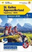 Cover-Bild zu Hallwag Kümmerly+Frey AG (Hrsg.): St. Gallen - Appenzellerland Nr. 07 Wanderkarte 1:60 000. 1:60'000