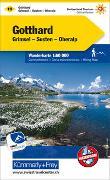 Cover-Bild zu Hallwag Kümmerly+Frey AG (Hrsg.): Gotthard Nr. 19 Wanderkarte 1:60 000. 1:60'000