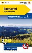Cover-Bild zu Hallwag Kümmerly+Frey AG (Hrsg.): Emmental - Napf - Entlebuch Nr. 10 Wanderkarte 1:60 000. 1:60'000