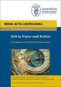 Cover-Bild zu Hacker, Jörg (Hrsg.): Zeit in Natur und Kultur