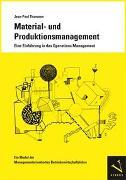 Cover-Bild zu Thommen, Jean-Paul: Material- und Produktionsmanagement. Eine Einführung in das Operations Management