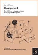 Cover-Bild zu Thommen, Jean-Paul: Management. Eine Einführung in das allgemeine und das strategische Management