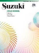 Cover-Bild zu Tsutsumi, Tsuyoshi: Suzuki Cello School, Vol 8: Cello Part, Book & CD