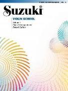 Cover-Bild zu Suzuki, Shinichi: Suzuki Violin School 4 - Piano Acc. (Revised)