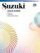 Cover-Bild zu Suzuki, Shinichi: Suzuki Violin School 1 International Edition mit CD