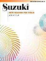Cover-Bild zu Suzuki, Shinichi: Note Reading for Violin