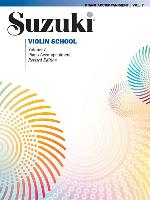 Cover-Bild zu Suzuki, Shinichi: Suzuki Violin School, Vol 7: Piano Acc