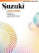 Cover-Bild zu Suzuki, Shinichi: Home Concert: Violin Part