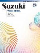 Cover-Bild zu SUZUKI, DR. SHINICHI: SUZUKI VIOLIN SCHOOL VIOLIN PART CD VOLU