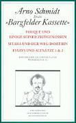 Cover-Bild zu Schmidt, Arno: Bargfelder Ausgabe. Studienausgabe. Werkgruppe 3, Band 1-4