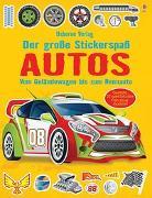 Cover-Bild zu Tudhope, Simon: Der große Stickerspaß: Autos