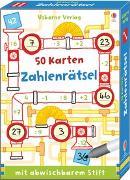 Cover-Bild zu Khan, Sarah: 50 Karten: Zahlenrätsel