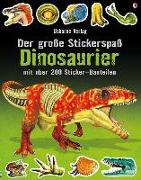 Cover-Bild zu Tudhope, Simon: Der große Stickerspaß: Dinosaurier