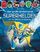 Cover-Bild zu Tudhope, Simon: Der große Stickerspaß: Superhelden