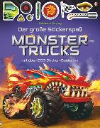 Cover-Bild zu Tudhope, Simon: Der große Stickerspaß: Monstertrucks