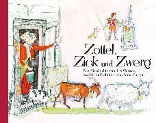 Cover-Bild zu Carigiet, Alois (Illustr.): Zottel, Zick und Zwerg, Mini