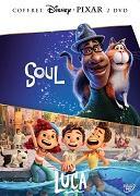 Cover-Bild zu Animation (Schausp.): Pixar Boxset 2021 (Luca & Soul)