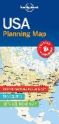 Cover-Bild zu Lonely Planet: Lonely Planet USA Planning Map. 1:7'700'000