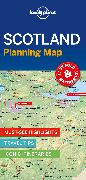 Cover-Bild zu Lonely Planet: Lonely Planet Scotland Planning Map. 1:930'000