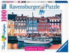 Cover-Bild zu Ravensburger Puzzle Scandinavian Places 16739 - Kopenhagen, Dänemark - 1000 Teile Puzzle für Erwachsene und Kinder ab 14 Jahren