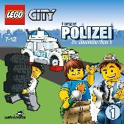 Cover-Bild zu Missler, Robert (Gelesen): LEGO City: Folge 1 - Polizei - Der unheimliche Mister X (Audio Download)