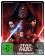 Cover-Bild zu Johnson, Rian (Reg.): Star Wars: Episode VIII - Die letzten Jedi Steelbook Edition