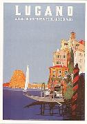 Cover-Bild zu 01696; PlakK A6: Lugano 1952