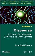 Cover-Bild zu Metzger, Jean-Paul: Discourse (eBook)