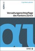 Cover-Bild zu Binder, Anja Martina: Verwaltungsrechtspflege des Kantons Zürich