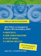 Cover-Bild zu Büchner, Georg: Abi-Paket Baden-Württemberg 2023 Deutsch Leistungskurs